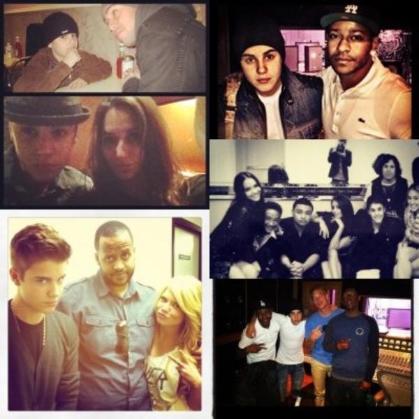 La maison de Justin + 18 ans + le concert + punk'd + portrait + instagram