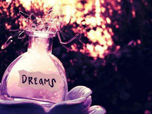 """""""Les rêves, c'est bien beau. Mais ce serait merveilleux de pouvoir les réaliser de temps en temps..."""""""