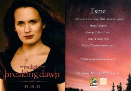 Des cartes pour Breaking Dawn en voila encore !!!