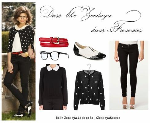 Article en collaboration avec Bella-Zendaya-Look : Dress like Zendaya dans Frenemies !