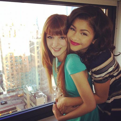 """Bella et Zendaya sur le plateau de """" Good Morning America """""""