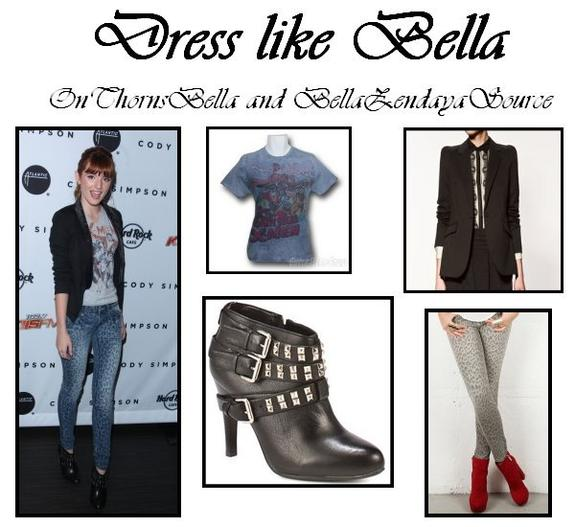 Dress like Bella en collaboration avec ThorneBells et BellaZendayaSource.