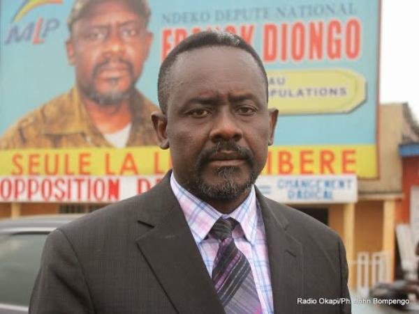 RDC: l'opposant Franck Diongo arrêté à Kinshasa