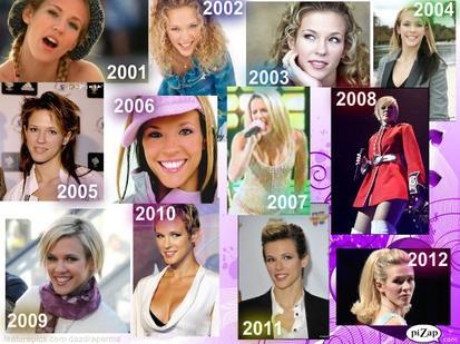 Lorie de 2001 à 2012