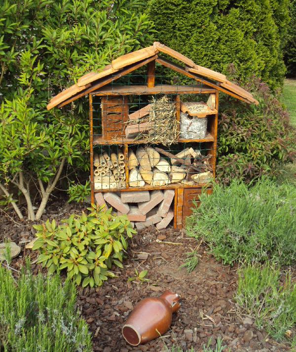 Bricolage : Hotel à insectes