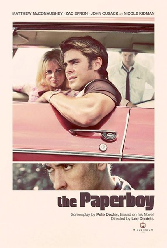 Zac pour le film Paperboy