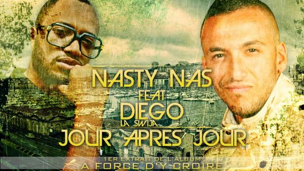 "NASTY NAS Feat DIEGO "" JOUR APRES JOUR "" Bientot en ecoute !!!"