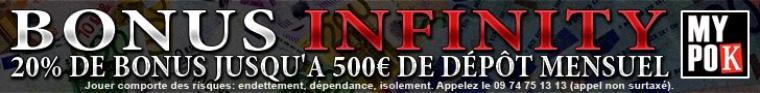 1 euro joué = 1 euro ajouté au prize = 1 euro pour l' association sur mypok