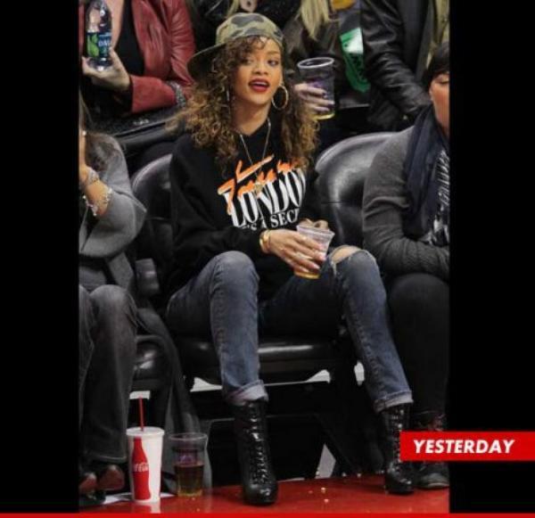 Rihanna a snobé les People's Choice Awards pour la NBA
