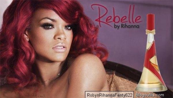 Rihanna rencontre du succès avec son parfum ''Rebelle''