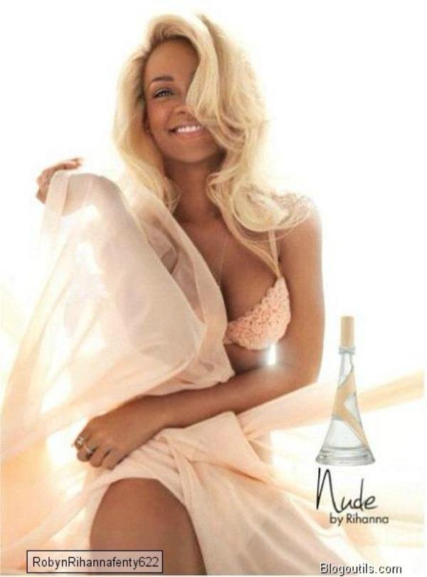 Rihanna toute nude La chanteuse lance son troisième parfum