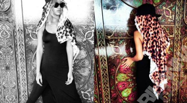 Rihanna au Maroc