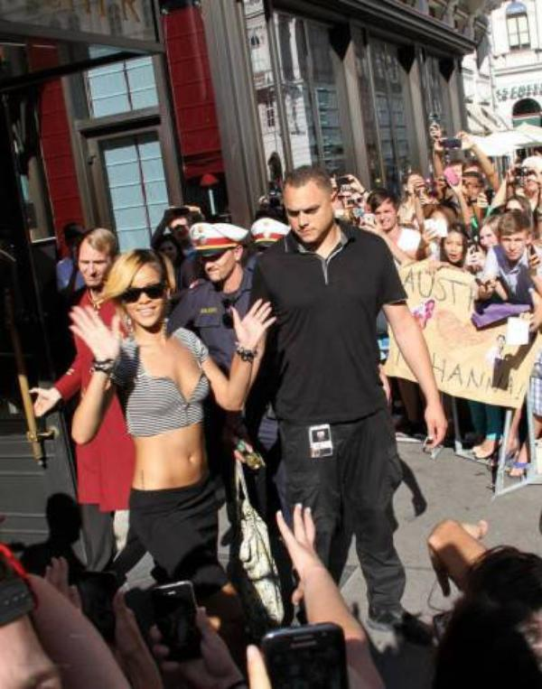 Rihanna en Autriche