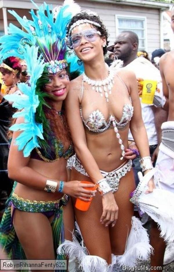 Rihanna s éclate au festival a la Barbade