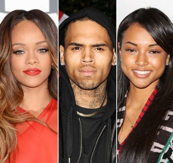 Nouveau coup de théâtre Rihanna responsable de la rupture e Chris Brown et Karrueche Tran !