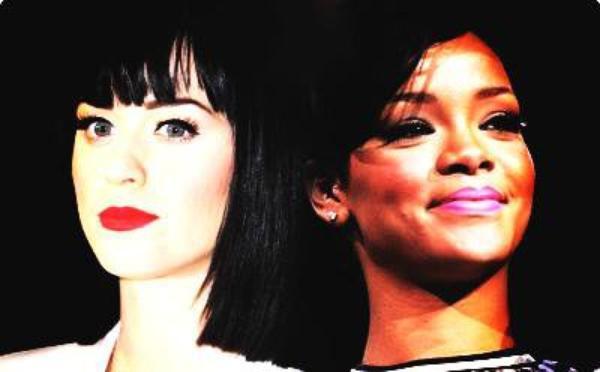 katty Perry et Rihanna la guerre est déclaré