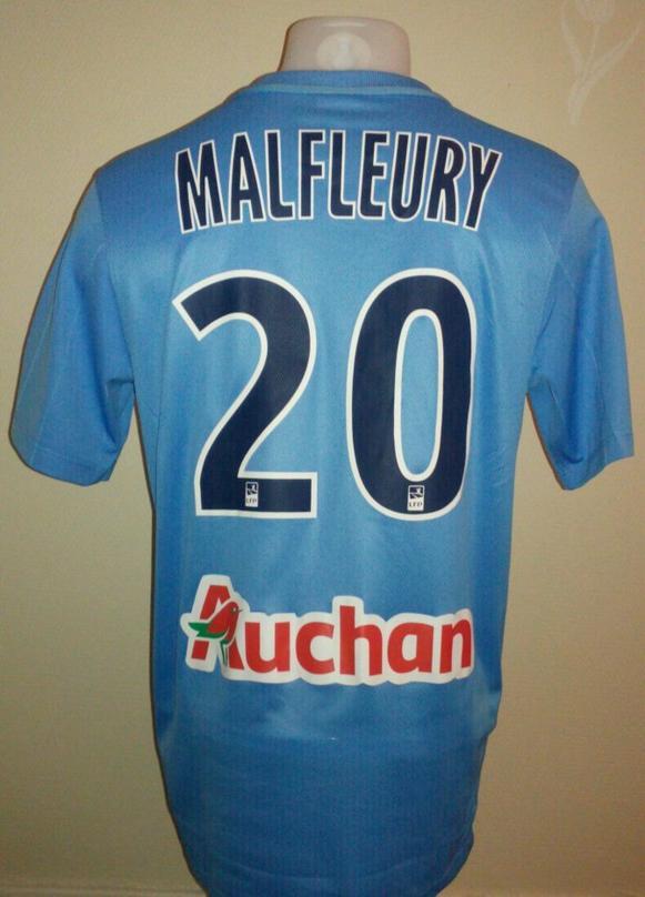 Maillot Tours FC - Geoffrey Malfleury #20 - Ligue 2 - Saison 2015/2016