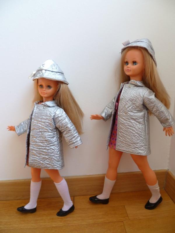 Drôles de dames...Duo cathie/Betsie Tenues Drugstore 1968