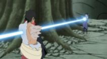 Sasuke contre Danzo