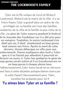 ♥ Tyler & sa famille ♥