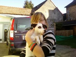 Un chien de Maylis, il s'appelle Bulle!♥