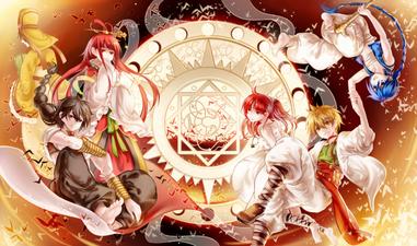 Magi– The Labyrinth of Magic   en  vf et vostfr