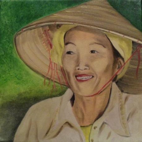 femme de rizière