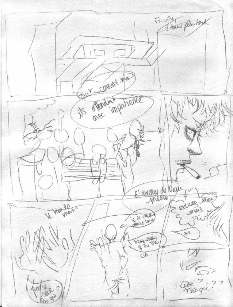 Storyboards de Dvorce - Si vous comprenez rien, c'est normal ♥