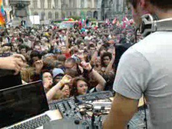 Aux Platines de la Gay Pride de Rouen 11/06/2011
