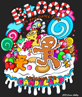 Blood on the Dance Floor Candyland