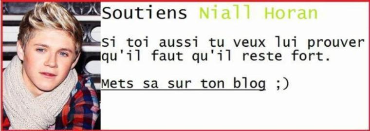 On t'aime Niall !