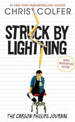 Livre numéro 16 : Struck By Lightning. Chris Colfer.
