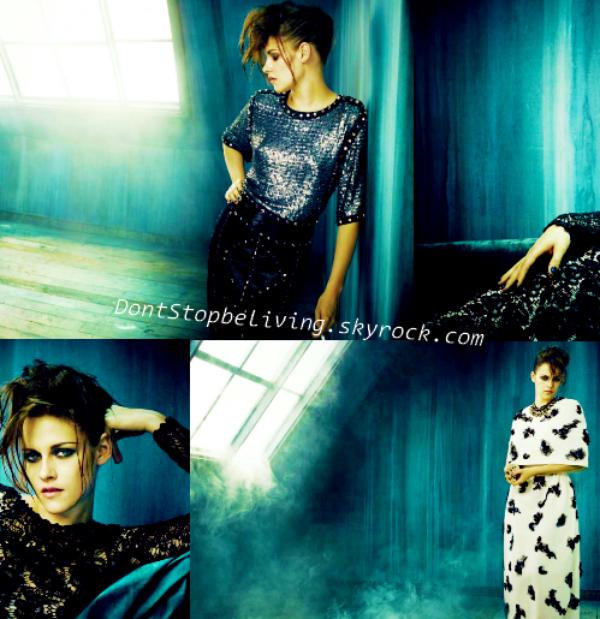 Découvrez un magnifique photoshoot de Kristen pour le magazine Vogue in Italie.