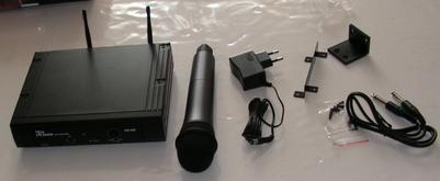 Microphone sans fil T-bone DS-16H : Utilisation sur émetteur-récepteur radioamateur