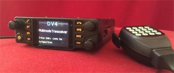 DV4mobile : Emetteur récepteur VHF-UHF FM, D-Star, C4FM, DMR+, dPMR, P25, NXDN, DV4LTE