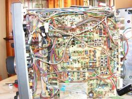 FT757 Yaesu : Perte de mémoire , retour sur 7,000.0 MHz (Pile HS) - Fini le démontage