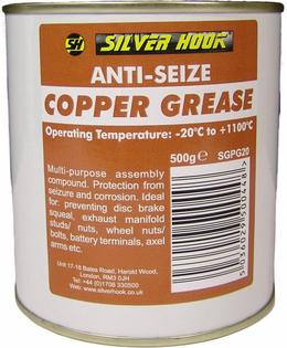 Graisse au cuivre (Copper grease) : Eviter l'oxydation / Corrosion des connexions extérieures