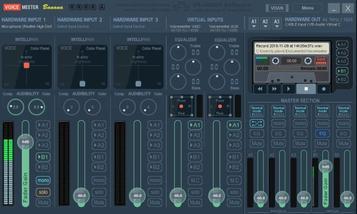 Clé USB DVstick 30 de DVMEGA : Configuration Equalizer Voice Meter Banana de VB-AUDIO