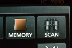 ICOM IC7610 : Marquage de l'écran - Solution de dernier recours
