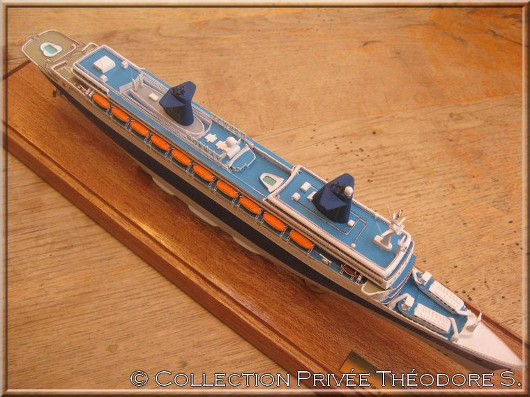 Maquette du NORWAY Classic Ship Collection au 1/1250