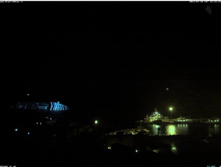 Le Costa Concordia