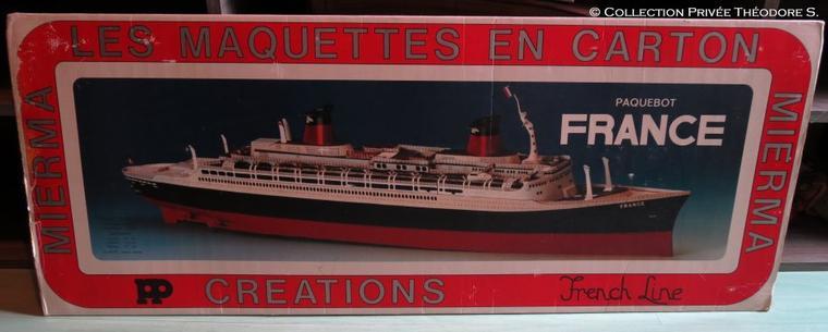 Maquette carton MIERMA du FRANCE