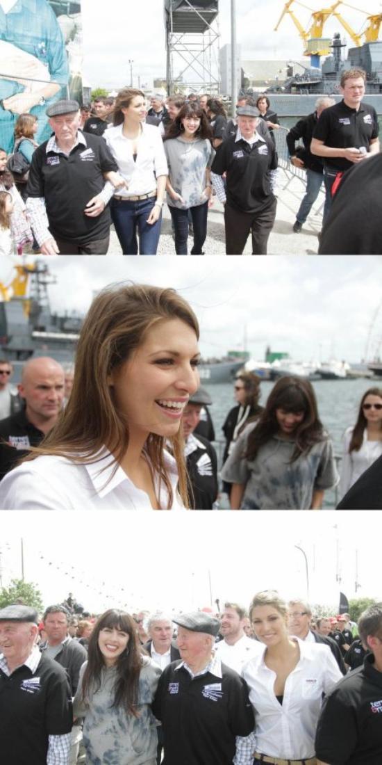 Laury aux Tonnerres de Brest 2012