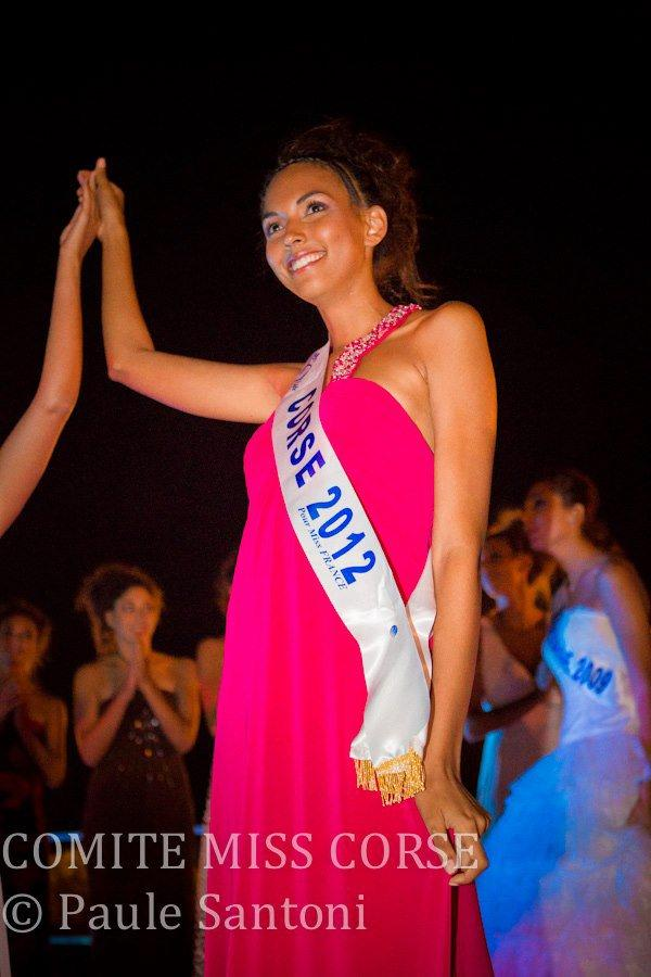Louise Robert est Miss Corse 2012