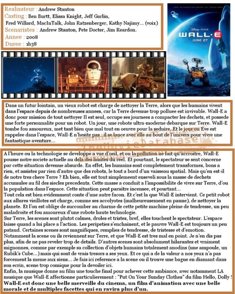 Film - Wall-E