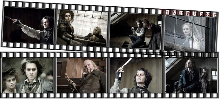 Film - Sweeney Todd, the Demon Barber of Fleet Street