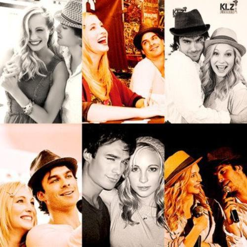 Ian Somerhalder et Candice Accola !! <3