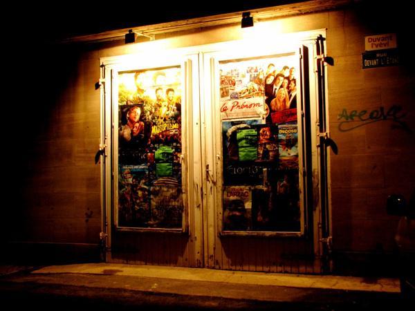 Loisir Photographique: mur de cinéma