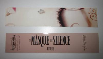 Concours MP le Masque du Silence Livre 1!