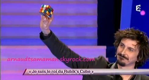Je suis le roi du Rubik's Cube (51ème passage d'Arnaud Tsamere)